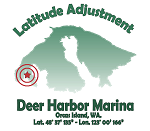 Thumb Deer Harbor Logo green