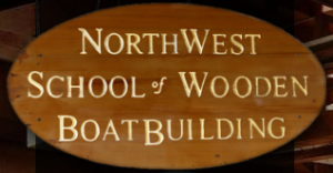 wood sign logo